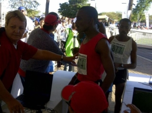 2nd at Steinmetz Gabarone Marathon and a PB time
