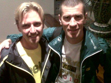 Craig Fry and Leonid Shvetsov Comrades 2012