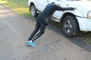 Munya Jari - Training KL Marathon