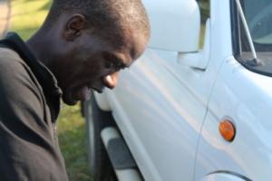 Munya doing Hill work as he prepares for KL Marathon 2013